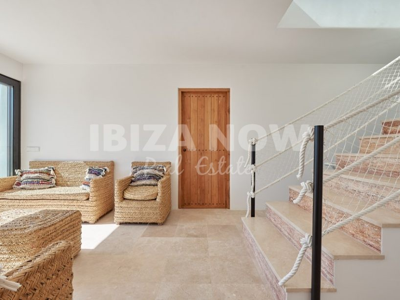 Beautiful 3 bedroom villa for sale with views to Es Vedra, Ibiza
