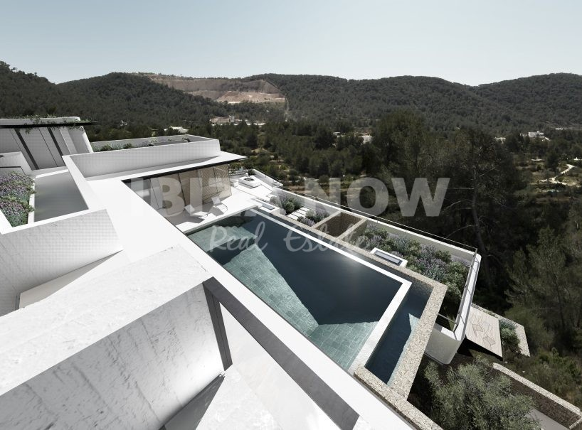 New to built 4 bedroom villa for sale close to Ibiza town