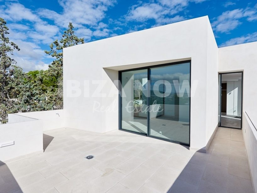 Modern villa for sale close to Talamanca beach, Ibiza