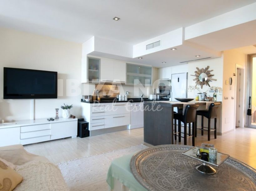 Spacious 2 bedroom apartment for sale in Cala Carbo, Ibiza ...