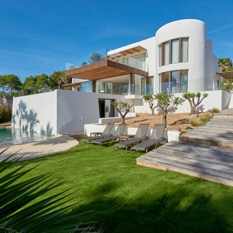Beautiful new built 4 bedroom villa for sale in Cala Conta, Ibiza