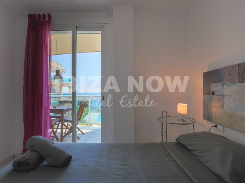 2 bedroom frontline apartment for sale in Playa Den Bossa, Ibiza