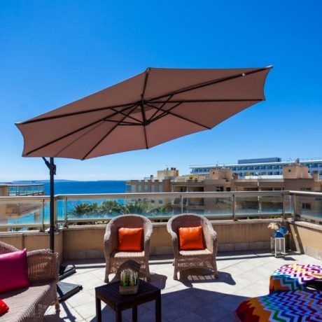 Beautiful 3 bedroom penthouse for sale in Playa Den Bossa, Ibiza