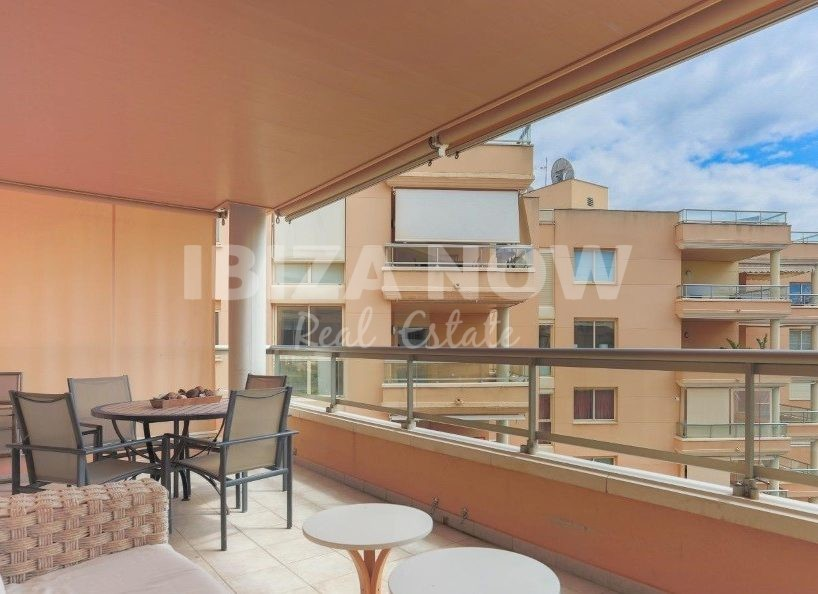 Beautiful large 3 bedroom apartment for sale on frontline in Playa Den Bossa, Ibiza
