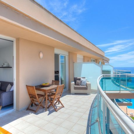 Nice 2 bedroom penthouse for sale in Playa Den Bossa, Ibiza.