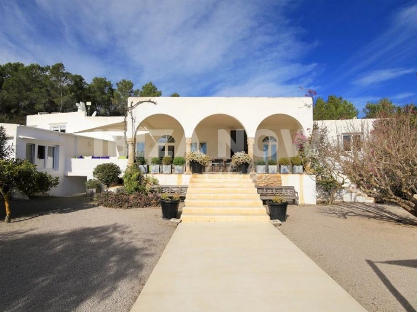 Beautiful 7 bedroom villa close to Salinas, Ibiza.