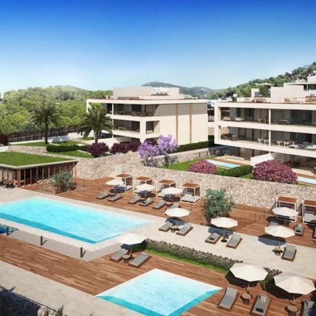 Luxury apartments for sale in Talamanca, Ibiza.