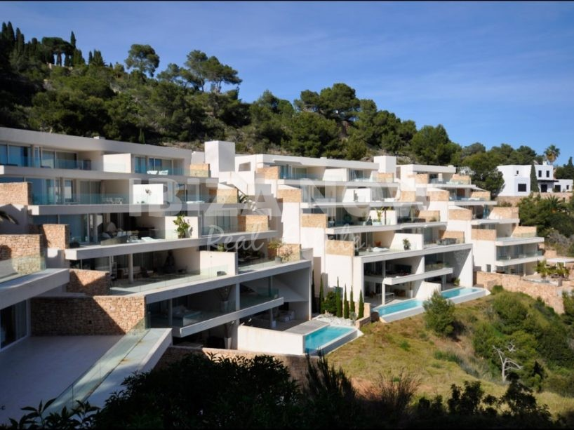 Minimalist 2 bedroom apartment for sale in Roca Lisa, Ibiza.
