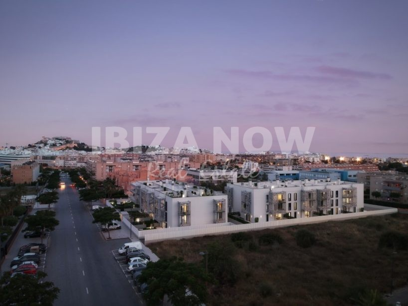 New built apartments for sale close to Ibiza town, Ibiza.