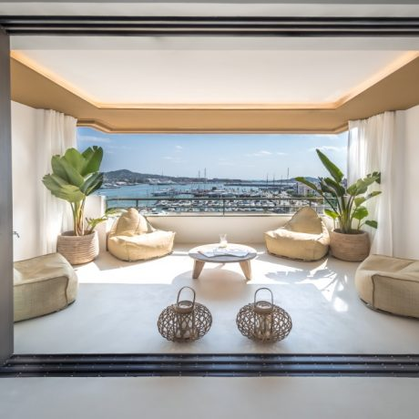 Modern designer apartment for sale in Ibiza town, Ibiza.