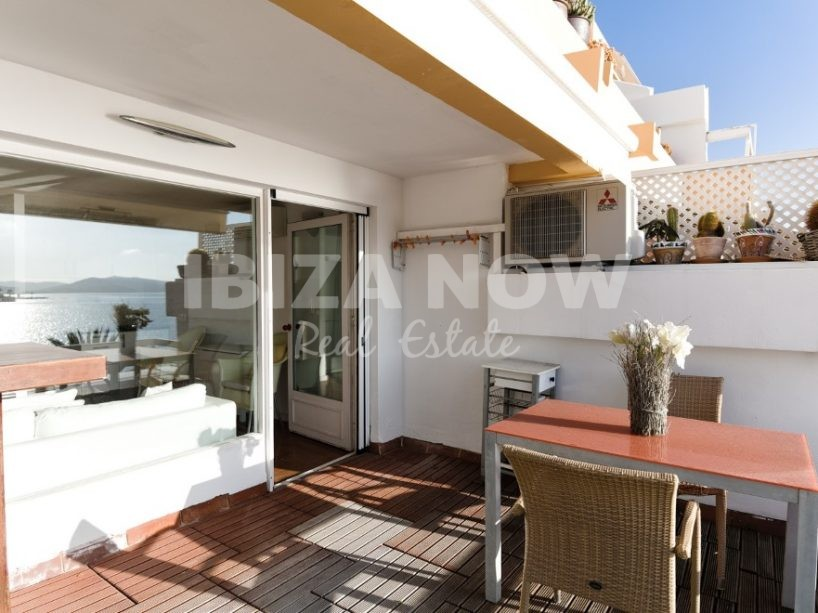 Nice frontline 1 bedroom apartment for sale in Figueretas, Ibiza