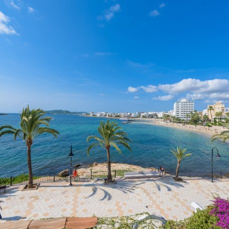 Nice frontline 1 bedroom apartment for sale in Figueretas, Ibiza.