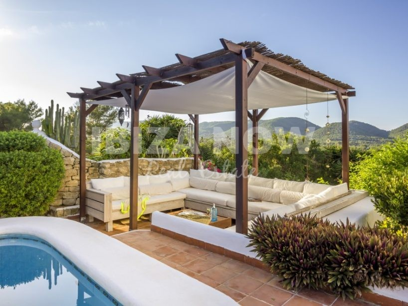 Large family house for sale close to the beach of Es Figueral, Ibiza
