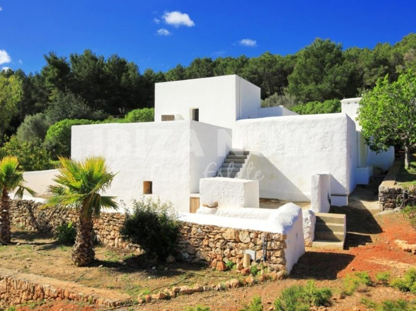 Beautiful renovated finca for sale in San Raffael, Ibiza.