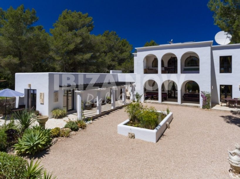 Beautiful Blackstad design villa of 6 bedrooms close to San Lorenzo, Ibiza.