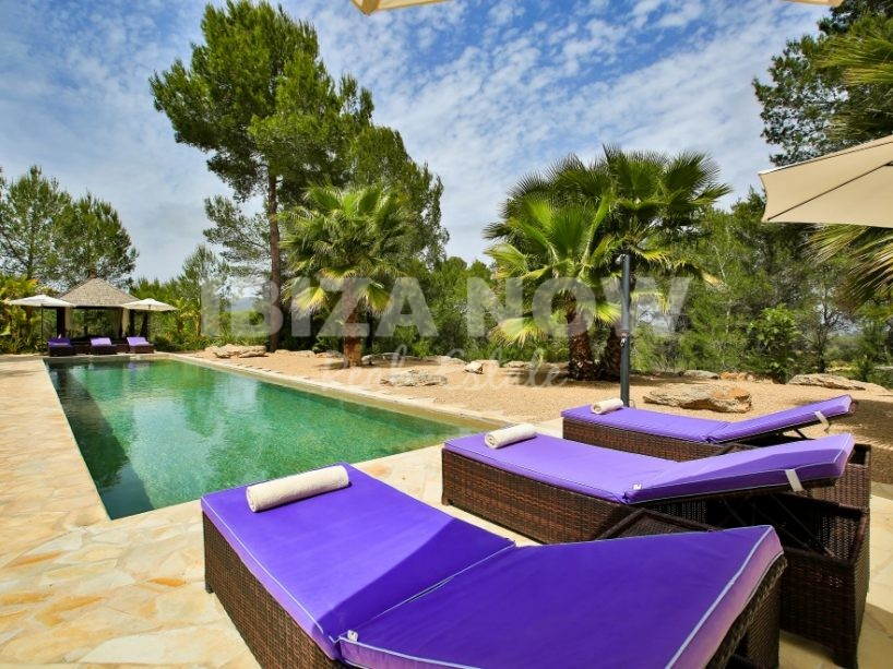 Beautiful Blakstad design villa of 6 bedrooms close to San Lorenzo, Ibiza
