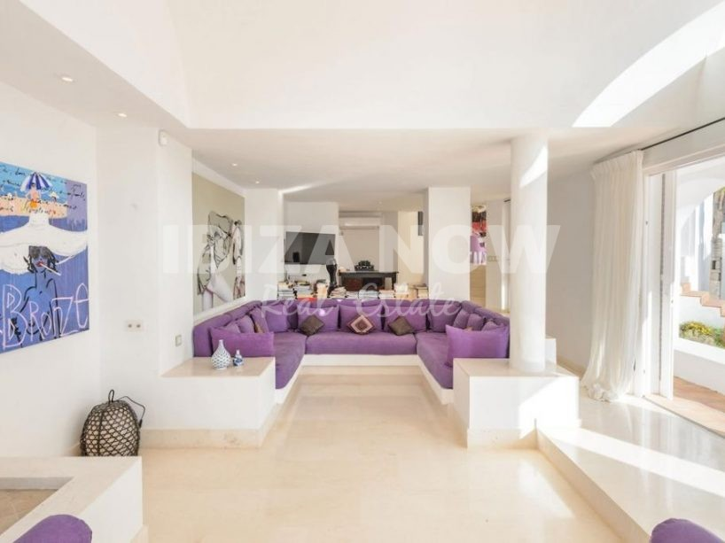 Beautiful large family villa for sale in Calo den Real, Ibiza