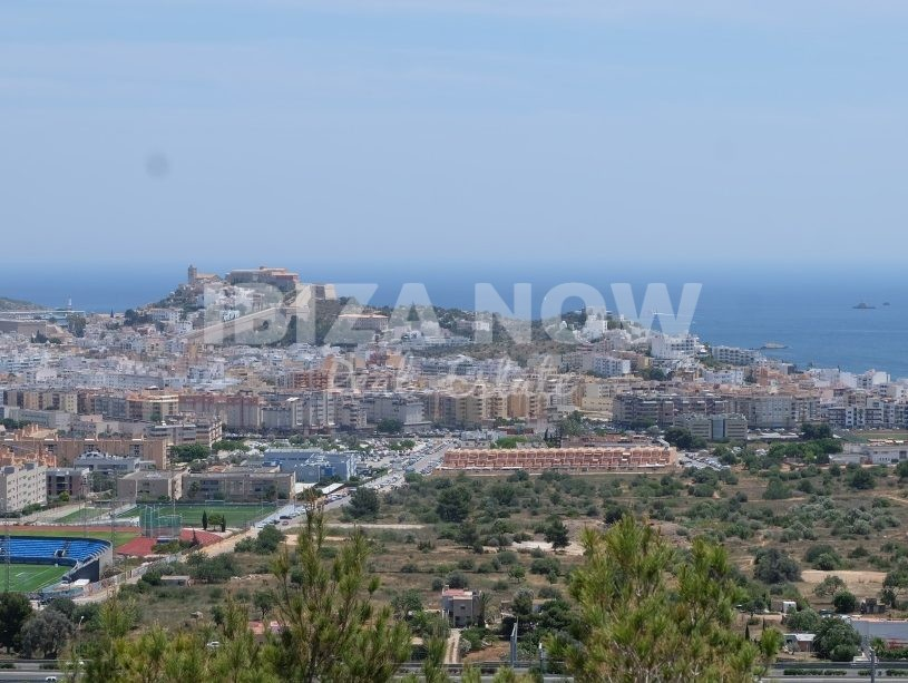 Several plots for sale with amazing sea views close to Ibiza town,Ibiza.