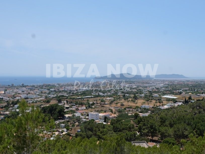 Several plots for sale with amazing sea views close to Ibiza town, Ibiza