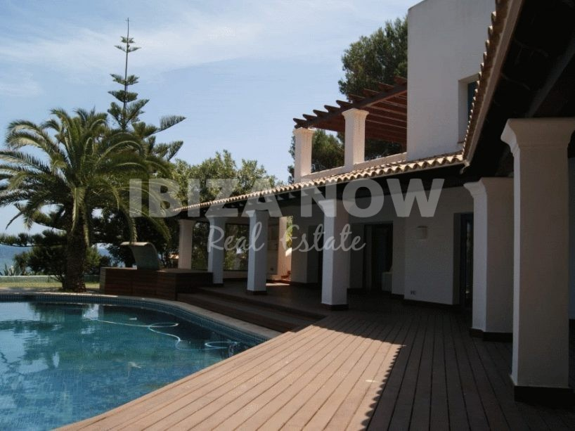 5 bedroom frontline villa for sale in Siesta, Ibiza