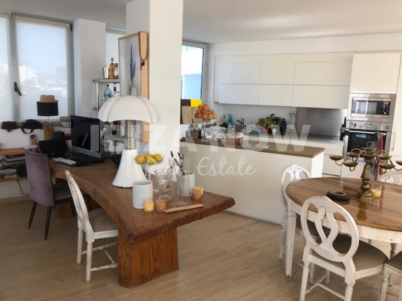 Spacious 2 bedroom apartment for sale close to Talamanca beach, Ibiza