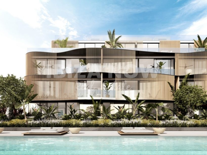 New to built ultra modern apartments for sale in Talamanca
