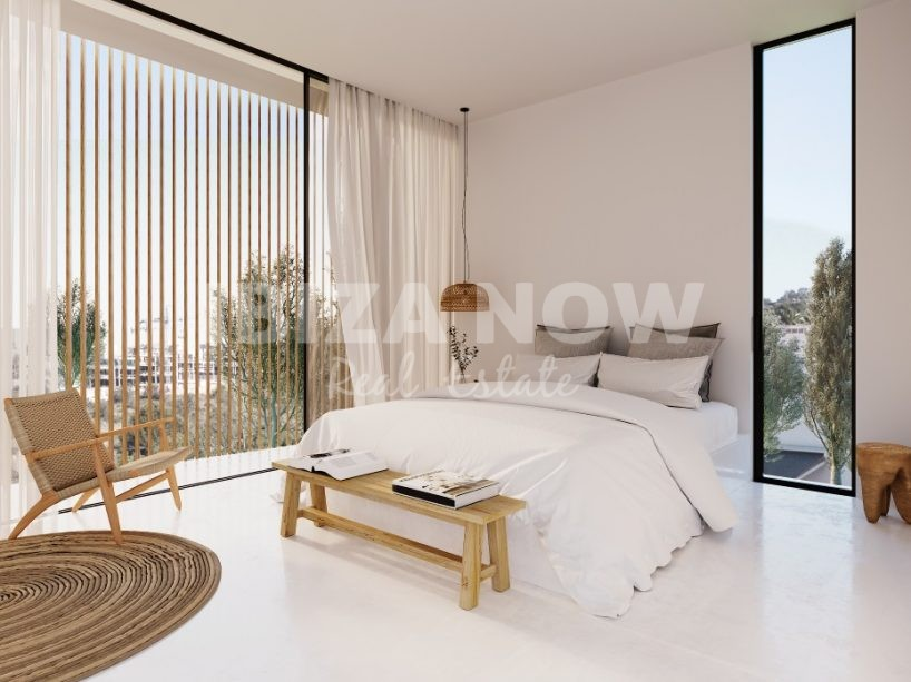 Beautiful new to built ground floor 3 bedroom apartment for sale in Talamanca, Ibiza