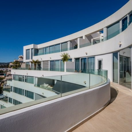Large 2 bedroom penthouse for sale close to Talamanca beach, Ibiza.