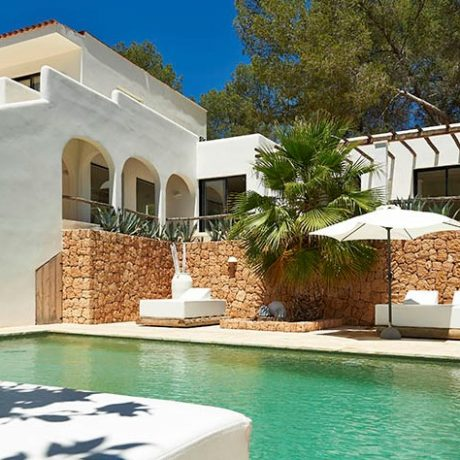 Finca style villa for sale close to the beach of San Miquel, Ibiza.