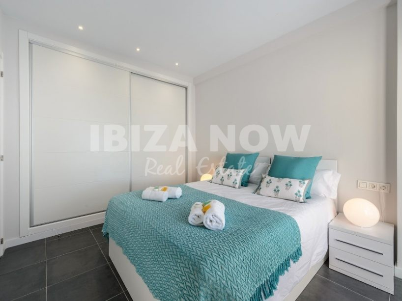 1 bedroom frontline penthouse for sale in Cala Vadella, Ibiza