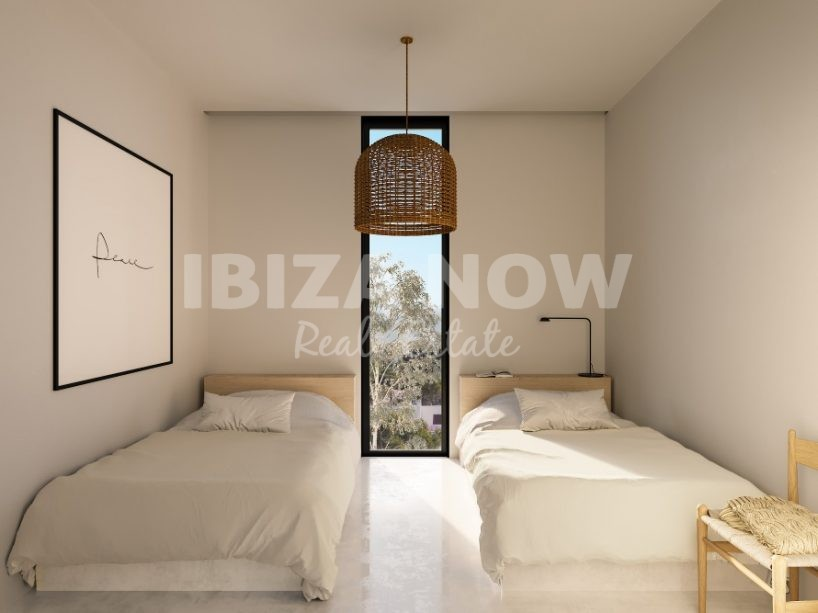 New to built 3 bedrooms apartments for sale in Talamanca, Ibiza