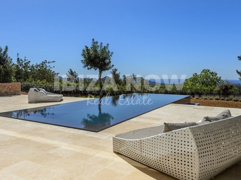 Modern 6 bedroom villa for sale in Es Cubells, Ibiza
