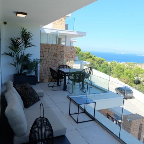 Beautiful 1 bedroom apartment for sale in Cala Vadella, Ibiza.