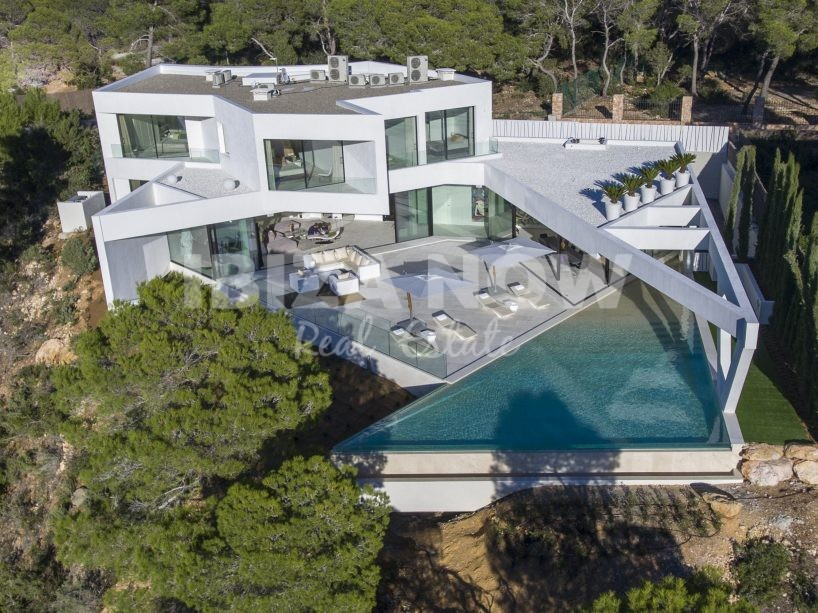 Brand-new villa with 7 bedrooms for sale in San Jose, Ibiza