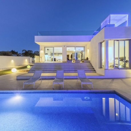 Modern 4 bedroom villa for sale close to the beach, Ibiza.