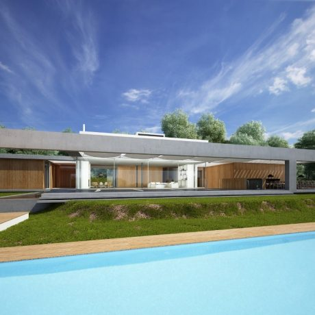 New built villa for sale close to Ibiza town, Ibiza.