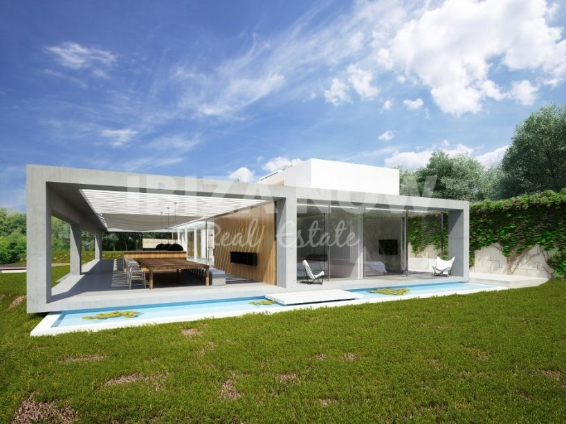 New built villa for sale close to Ibiza town, Ibiza