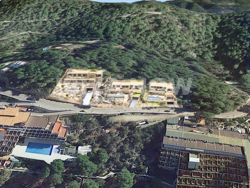 Plots with project and building license for sale in San Miquel, Ibiza