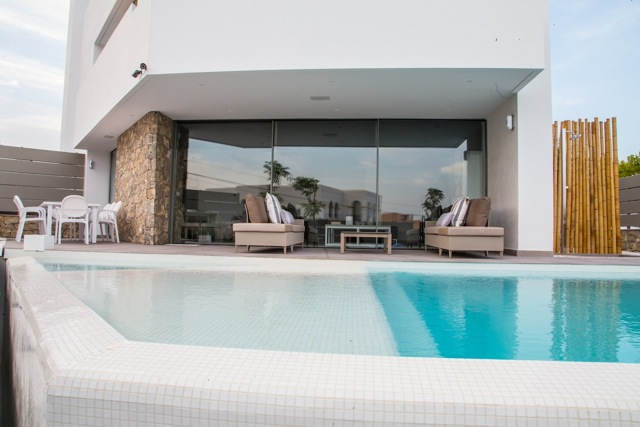 Beautiful 4 bedroom modern Talamanca villa for sale in Ibiza
