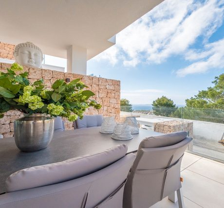 Beautiful 2 bedroom apartment for sale in Cala Vadella, Ibiza.