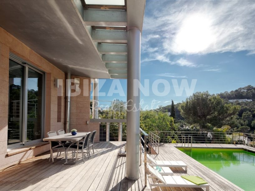 Modern 5 bedroom house for sale in Cala Vadella, Ibiza