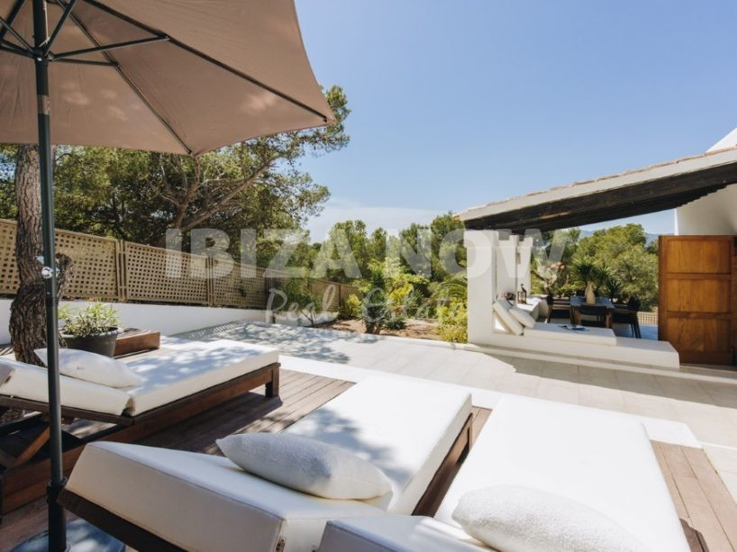 Nice 3 bedroom villa for sale close to the beach of Talamanca, Ibiza