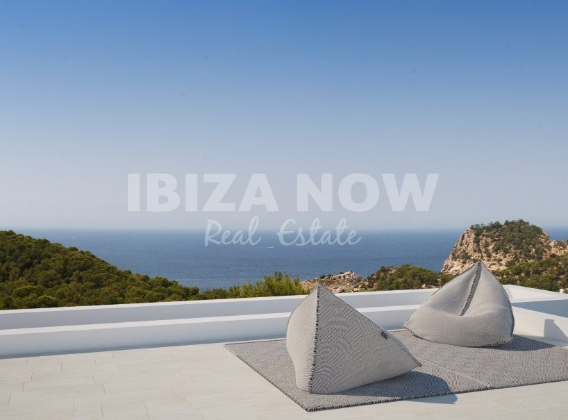 New built 5 bedroom modern villa for sale in Cala Salada, Ibiza