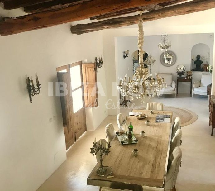 Authentically renovated monastery for sale close to San Raffael, Ibiza.