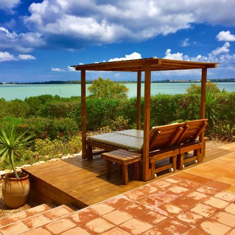 House with spectacular views and rental license for sale in Formentera.