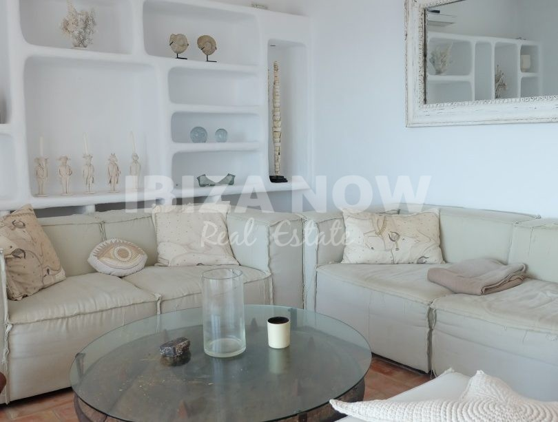 5 bedroom frontline villa for sale in Cala Vadella, Ibiza