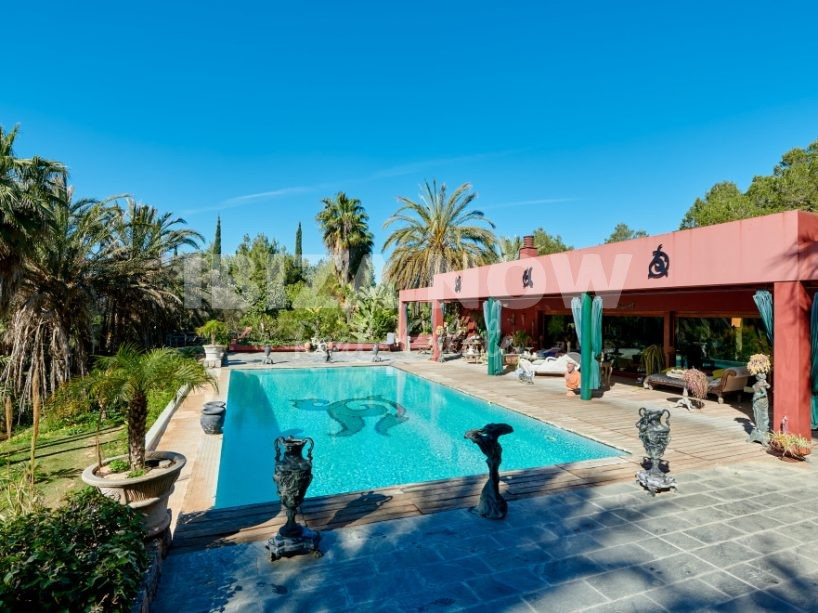 Large 3 bedroom villa for sale close to Ibiza town, Ibiza