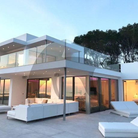 Modern 5 bedroom villa for sale in San Agustin, Ibiza.