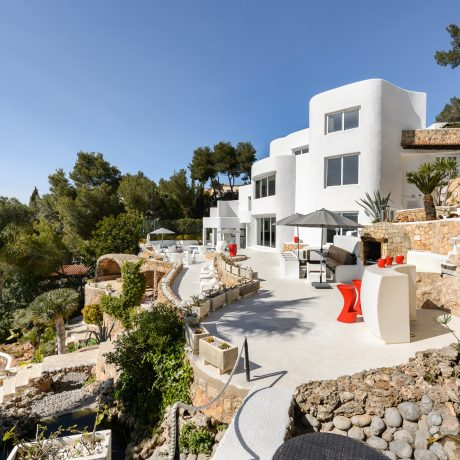 Large 6 bedroom villa for sale close to Ibiza town, Ibiza.