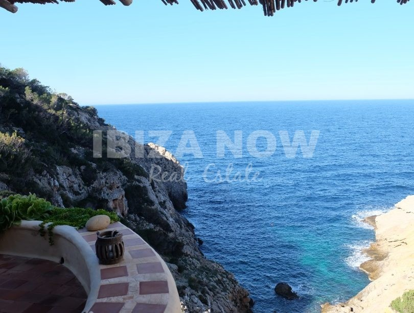 5 bedroom frontline villa for sale in Cala Vadella, Ibiza.